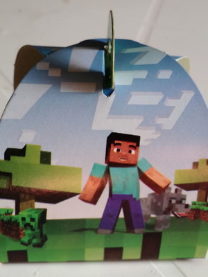 Caixa Trufa Minecraft (01 unid.)
