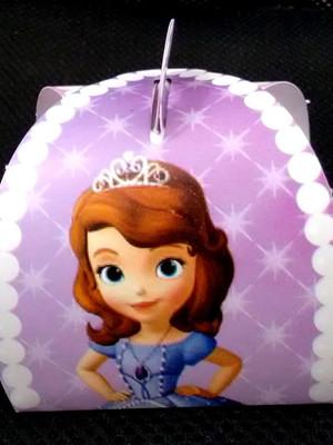 Caixa Trufa Princesinha Sofia (01 unid.)