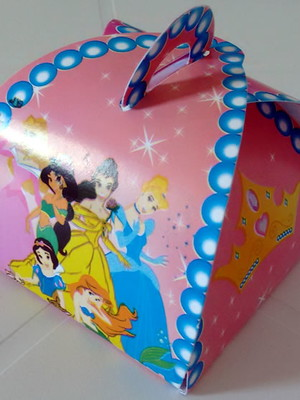 Caixa Trufa Seis Princesas (01 unid.)