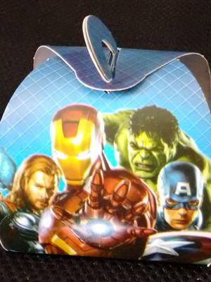 Caixa Trufa Vingadores (01 unid.)