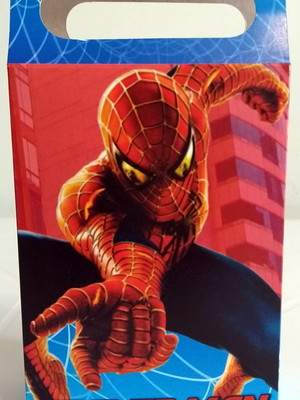 Caixa Surpresa Homem Aranha (08 unid.)