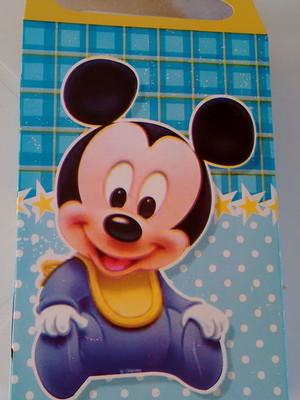 Caixa Surpresa Mickey Baby (08 unid.)