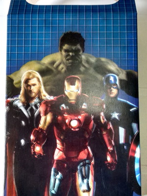 Caixa Surpresa Vingadores (08 unid.)