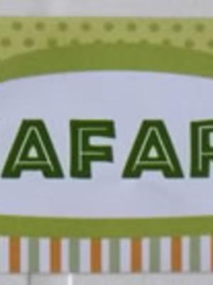 Adesivo Rótulo 18x4cm Floresta Safari (10 adesivos)