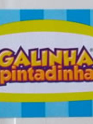 Adesivo Rótulo 18x4cm Galinha Pintadinha (10 adesivos)