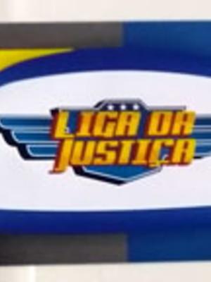 Adesivo Rótulo 18x4cm Liga da Justiça (10 adesivos)