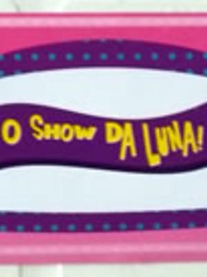 Adesivo Rótulo 18x4cm Show da Luna (10 adesivos)