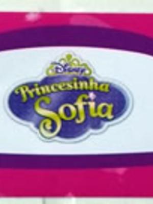 Adesivo Rótulo 18x4cm Princesinha Sofia (10 adesivos)