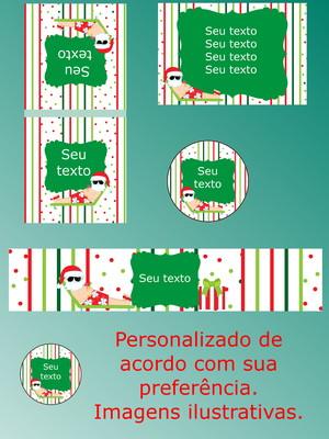 Kit Festa Impressa Natal