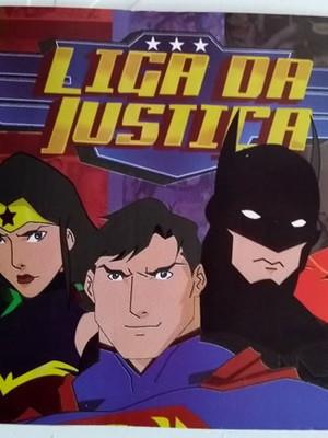 Tampa Marmitinha Liga da Justiça Nova Arte (10 unid.)