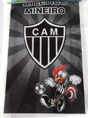 Sacola Plastica Atlético Mineiro (10 unidades)