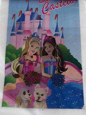 Sacola Plastica Barbie Castelo (10 unidades)