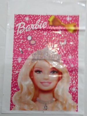 Sacola Plastica Barbie Life (10 unidades)
