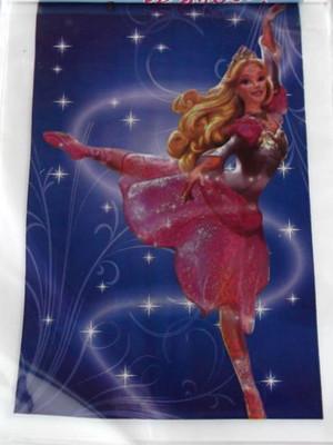 Sacola Plastica Barbie Bailarina (10 unidades)