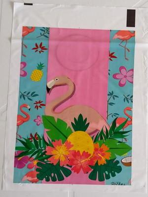 Sacola Plastica Flamingo (10 unidades)