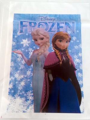 Sacola Plastica Frozen (10 unidades)