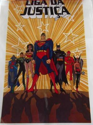 Sacola Plastica Liga da Justiça (10 unidades)