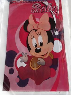 Sacola Plastica Minnie Baby (10 unidades)