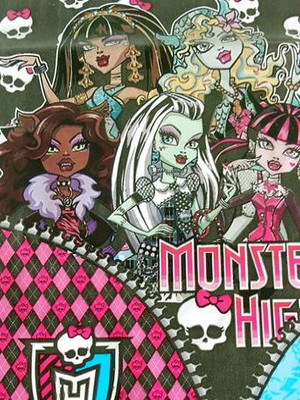 Sacola Plastica Monster High (10 unidades)