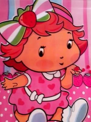 Sacola Plastica Moranguinho Baby (10 unidades)