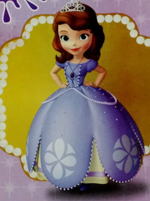 Livrinho Colorir Princesinha Sofia (01 unid.)