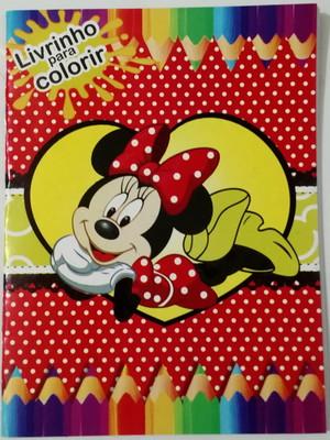 Livrinho Colorir Minnie (01 unid.)