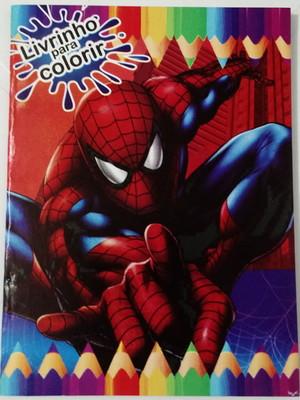 Livrinho Colorir Homem Aranha (01 unid.)