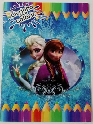 Livrinho Colorir Frozen (01 unid.)