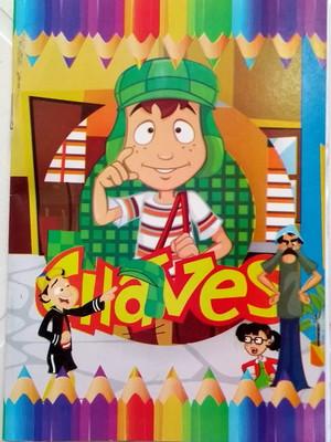 Livrinho Colorir Chaves (01 unid.)