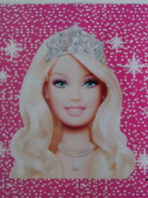 Adesivo Quadrado Barbie Life 7x7cm (20 unid.)