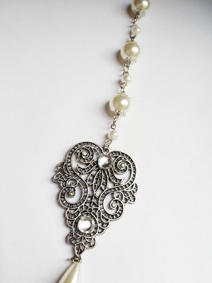 colar festa drops of love pearls