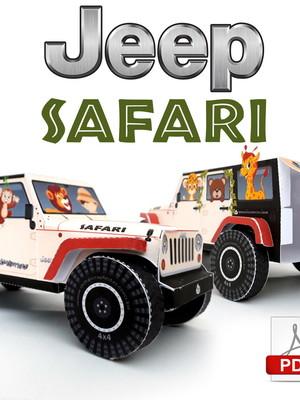 Arquivo de corte Jeep Safari