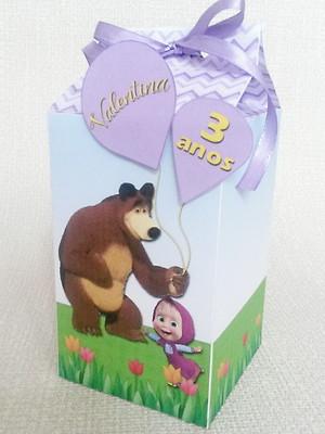 Caixa Milk Masha e o Urso