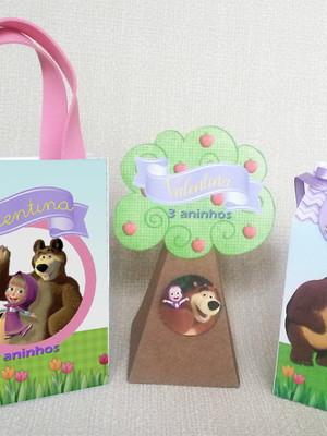 Kit Personalizado Masha e o Urso