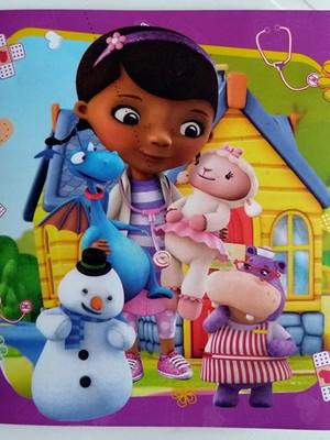 Convite Especial Doutora Brinquedos (10 convites.)