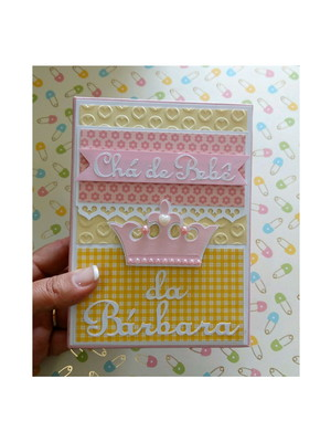 álbum personalizado chá de bebê menina princesa scrapbook