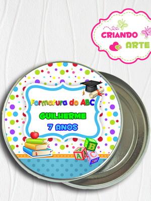 Latinha Personalizada ABC