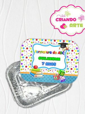 Marmitinha Personalizada ABC