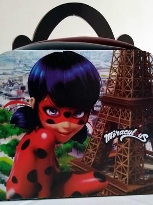 Caixa Maleta Ladybug (01 unid.)