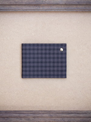 Carteira Pocket | Tartan Blue