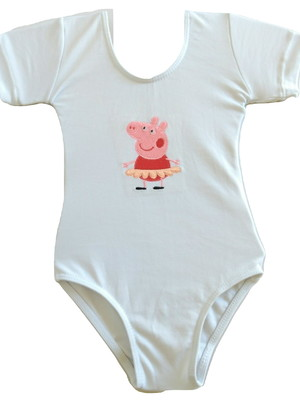 Body Peppa Bailarina ou Collant