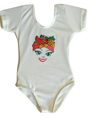 Collant ou Body Carmen Miranda