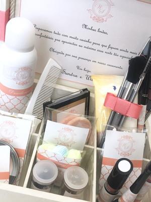 Caixa Maquiagem para festas