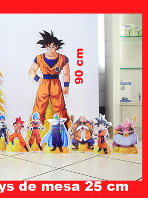 Totem De Chão Dragon Ball Super+displays De Mesa+banner