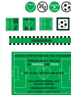 Kit Festa Futebol Chá Bar - digital