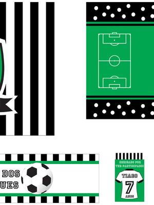 Kit Festa tema Futebol - digital