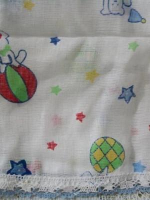 Fralda 70 de algodão para cobrir o bebê