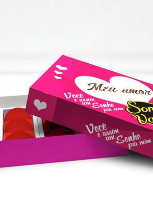 Arquivo de Corte Caixa para Doces Dia dos namorados