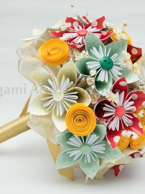 Buquê de origami Natália {noiva}