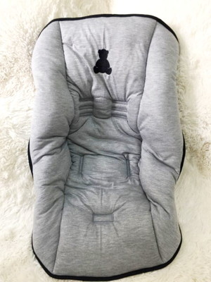Capa Bebê Conforto Cinza